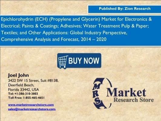 Global Epichlorhydrin ECH Propylen und Glycerin Market