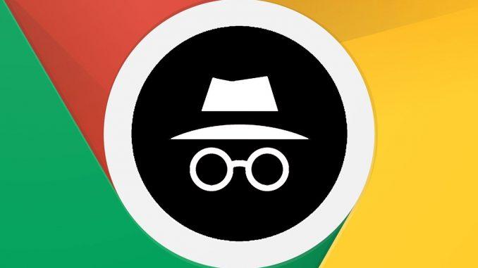 google chrome incognito mode